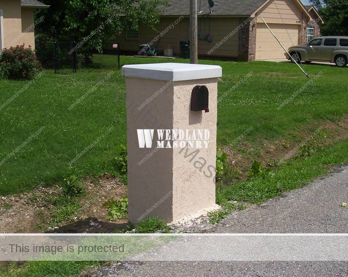 Stone Mailbox Designs
