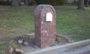 Masonry Mailbox