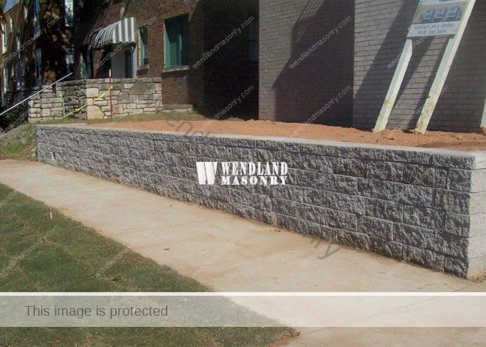 Tulsa Retaining Wall Installers