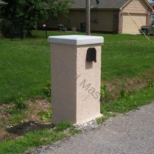 Stucco Mailbox