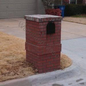 Brick and brick band with brick cap