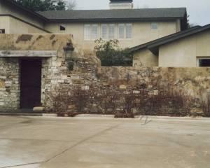 Masonry residential replica